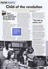 TONY VISCONTI - BOOK REVIEWOriginal Press Clippingappr30x20cm