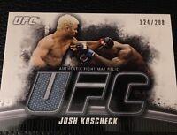 Josh Koscheck UFC 2010 Topps Knockout Fight Mat Relics #FM-JK 124/288