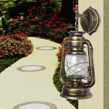 New listing Retro Outdoor Exterior Lantern Wall Hanging Lighting Bulb E27 Holder Fixture Usa