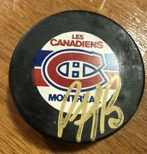 PATRICK ROY Signed Montreal Canadians  NHL Official Game Auto Puck Hockey