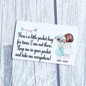 Pocket hugs bulk wholesale ID credit cards postage gift send a hug Friends girls