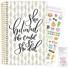 2021 Writefully His Calendar Year Daily Planner Agenda 12 Month January - Dec