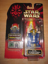 STAR WARS FIGURE JAPANESE EPISODE 1 MOMSC VERY RARE R2-B1 CHIP COMMTALK JAPON