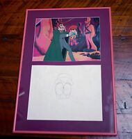 Filmation PINOCCHIO The Emperor Of The Night Pencil Drawing Animation Cel Print