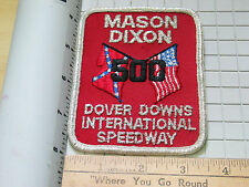 Mason Dixon 500 Dover Downs International Speedway Racing Patch (#4778) *