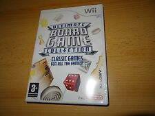 ULTIMATE BOARD GAME COLLECTION Nintendo Wii NEW UN SEALED