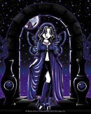 Myka Jelina Gothic Fairy Sticker Decal Butterfly Emo Faery Dark Black Moon New