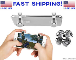1 Pair Gaming Trigger Phone Game PUBG Mobile Controller Gamepad for Android IOS