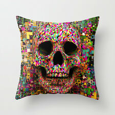 Cushion Pillow Cover The Skull Colorful 18'*18' home decoration