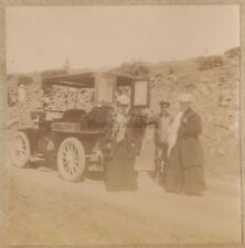 Algérie Voiture Photo d'un Amateur Français Colonialisme France Vintage citrate