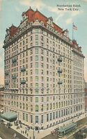 NEW YORK CITY – Manhattan Hotel showing Streetcar