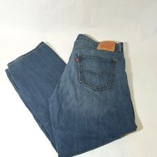 Levi's 559 Relaxed Straight Leg Dark Wash Mens Jeans Size 36x30