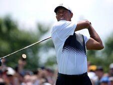 Nike Boys' TW Tiger Wood's Breathe Performance Golf Polo. Medium. White. 832750