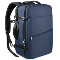 usInateck Laptop Backpack for 17 inch Laptop 40L Carry-On Travel Backpack - Blue