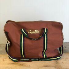 VINTAGE Caractere Paris Tan/Bronze Holdall Luggage Bag - Shoulder Strap/Handles