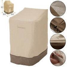 Waterproof Outdoor Patio Stackable Folding Chair Cover Case Furniture Protection