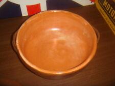 Stoneware caserole lidded dish