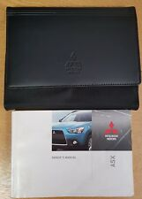 GENUINE MITSUBISHI ASX HANDBOOK OWNERS MANUAL 2010-2012 WALLET PACK D-851