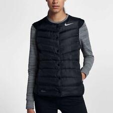 $180 Nike Aeroloft Golf Vest Black Running Puffer 856859-010 Women's XS NEW NWT