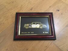 H Lehner Mercedes 300 1955 Watch Part Collage Picture