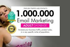 1 Million Adult Email list database leads