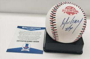 Jose Abreu White Sox Autograph 2018 All-Star Game Auto Baseball BAS Beckett
