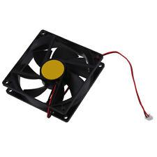 H3 92mm x92mm x 25mm DC 12V 2Pin 65.01CFM Computer Gehaeuse CPU Kuehlerluefter