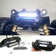 Front Bumper 7 LED Light Bar Lamp Lighting for Traxxas X-MAXX XMAXX RC Car Parts