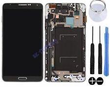 ECRAN LCD + VITRE TACTILE SUR CHASSIS POUR SAMSUNG GALAXY NOTE 3 N9005 NOIR NEUF