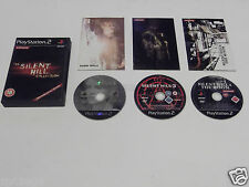 SILENT HILL COLLECTION LIMITED EDITION for PLAYSTATION 2 'VERY RARE'