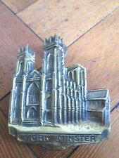 Old brass York Minster con batacchio