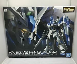 READY Bandai  Mobile Suit Gundam Char`s Counterattack RG 1/144 Hi-Nu Gundam