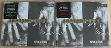 Depeche Mode Useless Remix 2xCD Enhanced Mega Rare Red Sticker & Green Ultra
