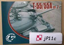 Main Battle Tank T-55/55A vol.2 - Model Detail Photo Monograph