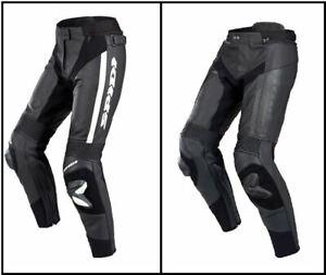Spidi RR Pro Pants Motorcycle Motorbike Regular Leather Trouser