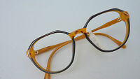 Zeiss Brille Brillenfassung unisex Neu Panto schwarz havanna honig schmal Gr. S