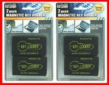 4 pc Two Magnetic Hide A Key Holder's Diversion Safe