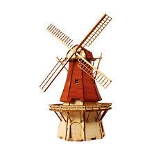 YM636 Ho-Series - Netherlands Windmill 2 - Wooden Model Kit