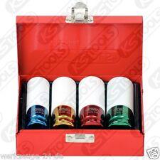 """KS TOOLS 1/2"""" llantas de aluminio set toma corriente,4 pcs. 17-19-21-22 515.1006"""