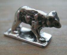 Very Sweet Sterling Silver Miniature Wild Bear / Bear Cub