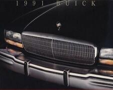 1991 Buick Line Sales Brochure Riviera Reatta LeSabre Roadmaster Park Avenue