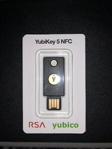 Yubikey 5NFC -Two Factor Authentication USB and NFC Security Key