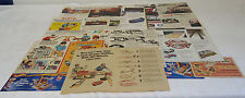 Collection 26 HOT WHEELS Mattel ads 1960s-2000s- Hot Birds,Sizzlers,Gran Toros..
