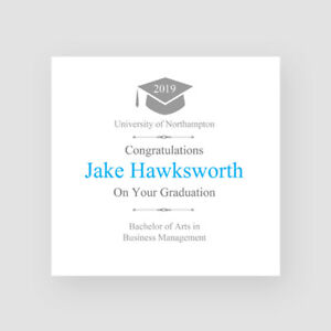 Personalised Handmade Certificate Graduation Card - For Him, Grandson, Son