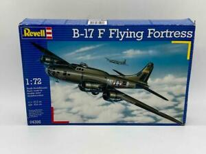 Revell 1:72 Scale B-17 F Flying Fortress WWII USAF Airplane Model Kit 04395