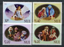 Niue 2012 Weihnachten Christmas Religion Natale Navidad 1202-1205 MNH
