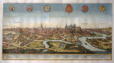 POLEN KRAKAU CRACOVIA WEICHSEL RUDAVA MERIAN ARCHONTOLOGIA LEGENDE WAPPEN 1638
