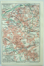 Map Of Germany Gelsenkirchen.Germany 1910 1919 Date Range Antique Europe City Maps For Sale Ebay