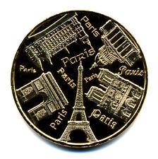 75004 Les Tours de Notre-Dame 4, 5 monuments en cercle, 2017, Monnaie de Paris