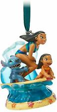 Disney Store Lilo & Stitch Musical Living Magic Christmas Sketchbook Ornament